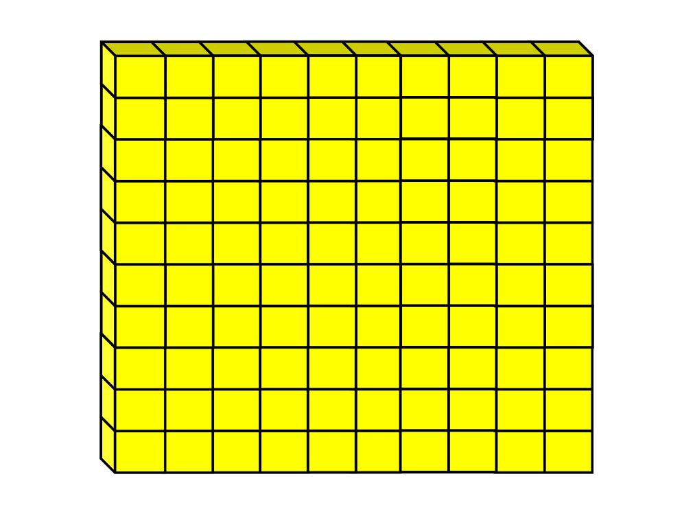 This is an image of Dynamite Printable Base Ten Blocks